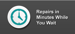 i repair cracked screens, repairs in minutes while you wait