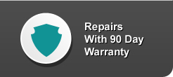 i repair cracked screens, repairs with 90 day warranty